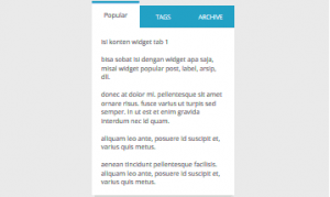 Multi Tab Widget